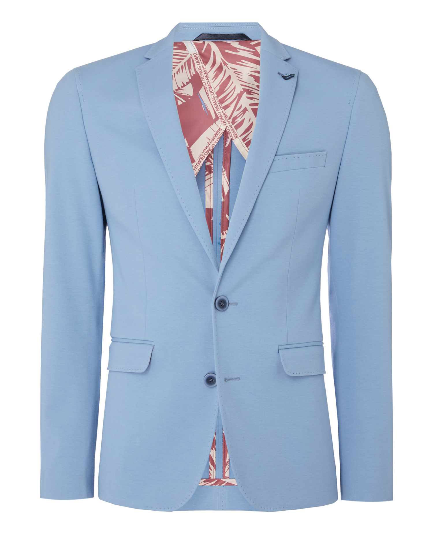 Slim Fit Cotton-Stretch Jersey Jacket
