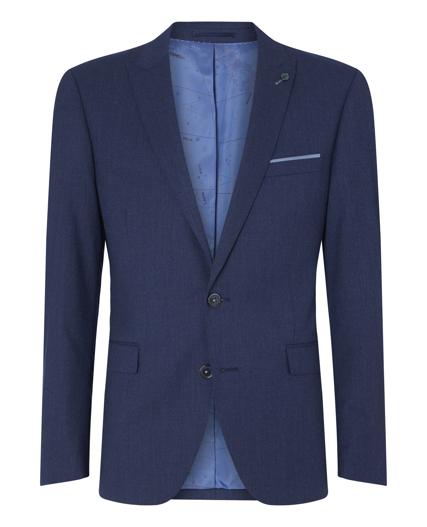 Tapered Fit Wool Rich Mix and Match Suit