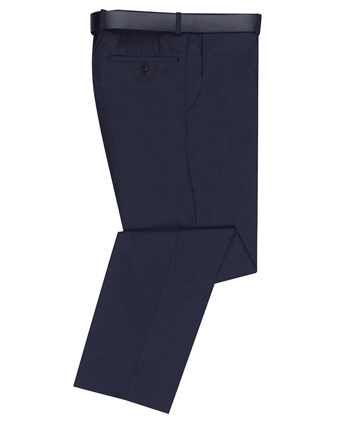 Tapered Fit Stretch Formal Trouser