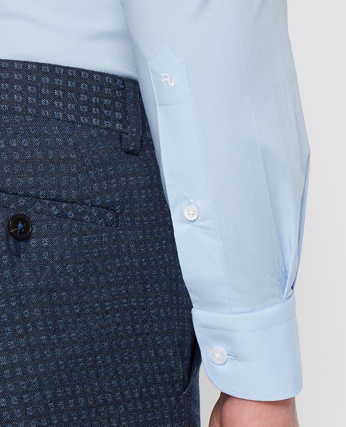 Slim Fit Cotton-Stretch Shirt