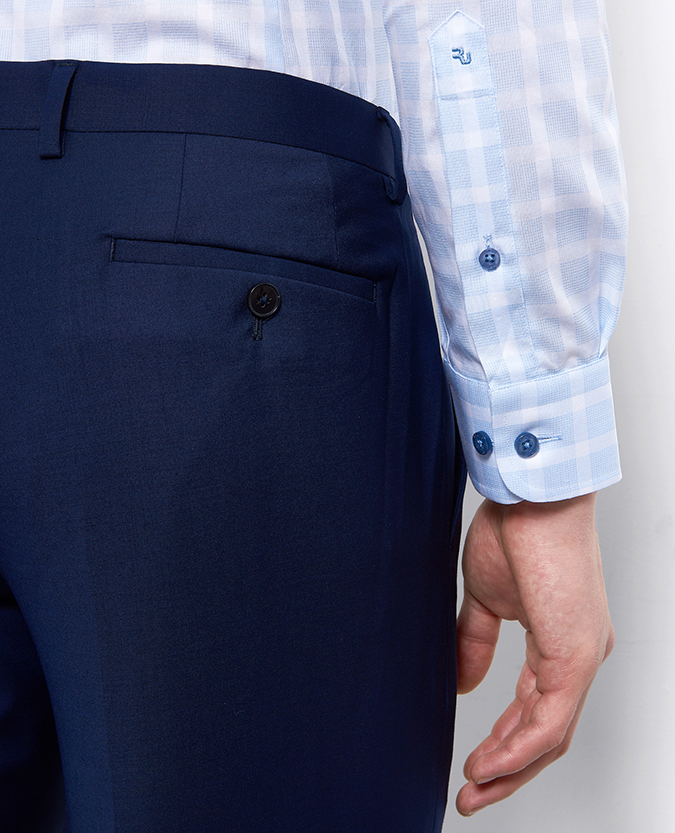 Slim Fit Checked Cotton Shirt