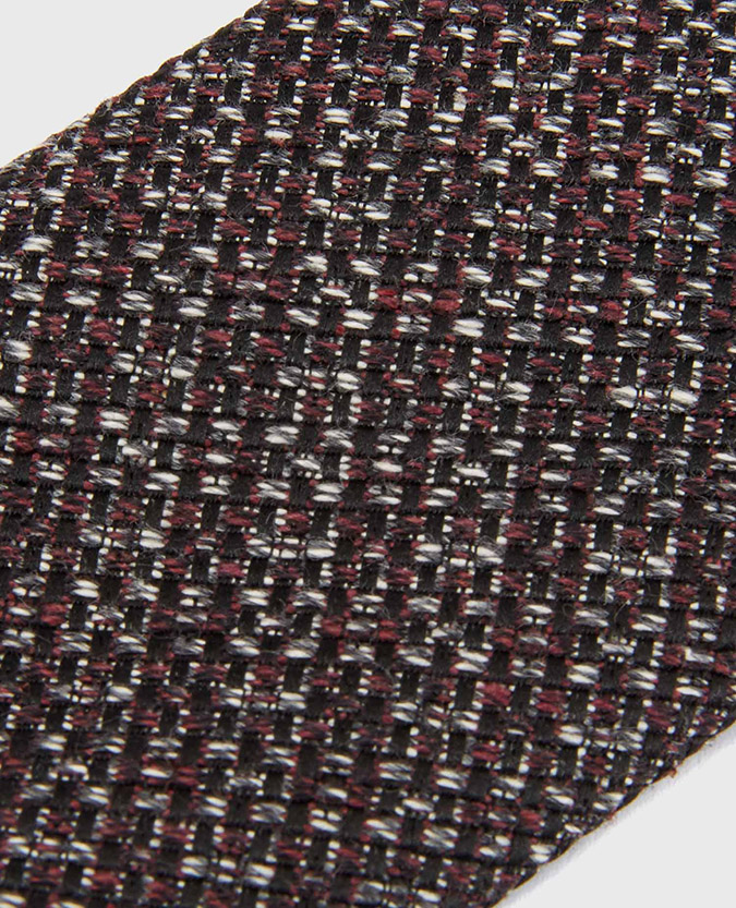 Cotton-Silk Woven Tie