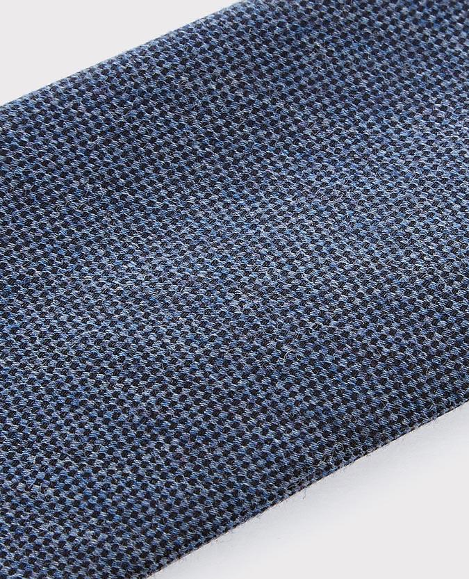 Cotton-Silk Melange Tie