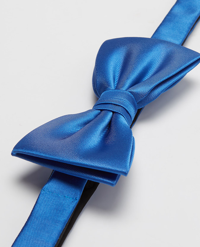 Plain design bow