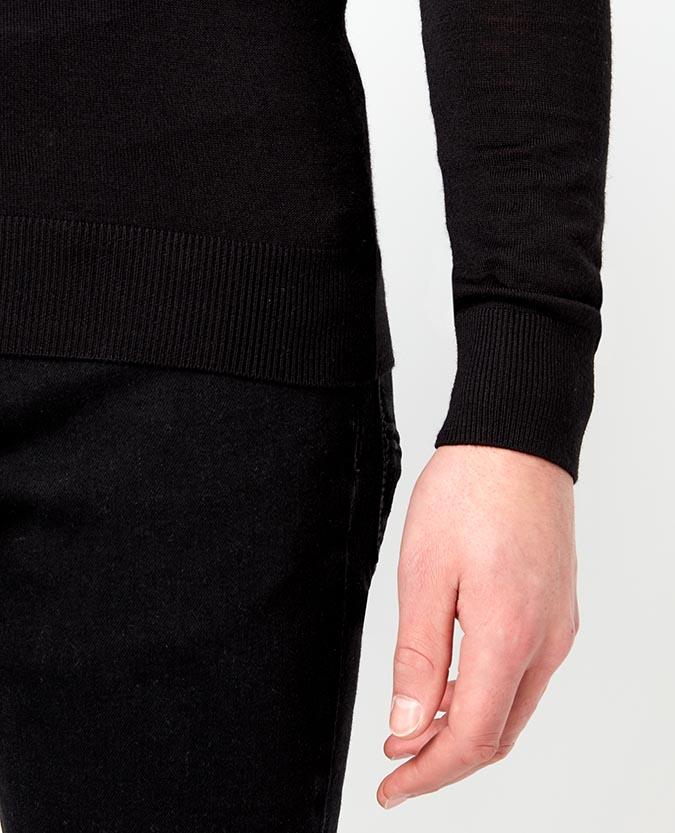 Slim Fit Merino Wool-Blend Sweater