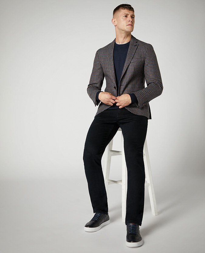 Slim Fit Merino Wool-Blend Sweater