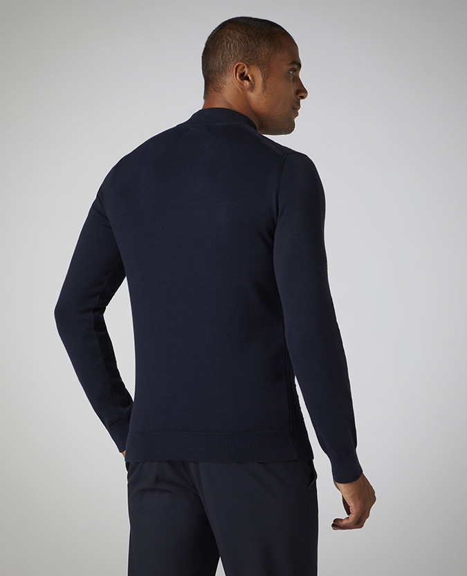 Slim Fit Cotton-Blend Sweater