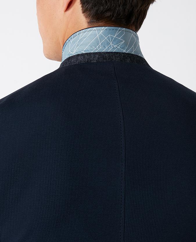 Slim Fit Cotton-Stretch Jacket