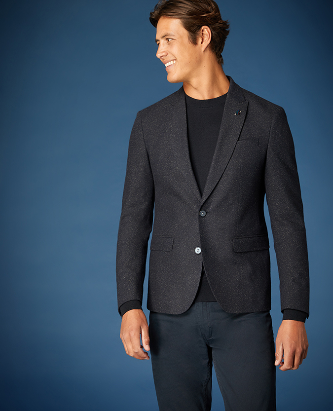 Slim Fit Wool-Rich Casual Suit Jacket