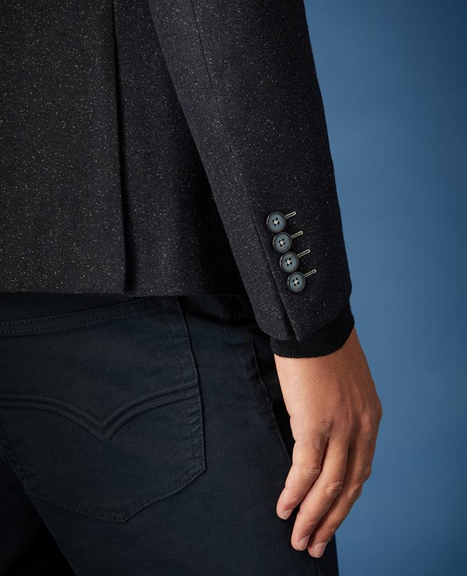 Slim Fit Wool-Rich Casual Suit Jacket