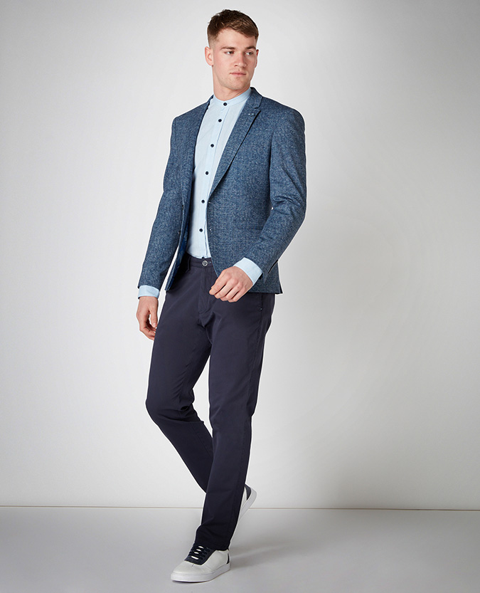 Slim Fit Stretch Jacket