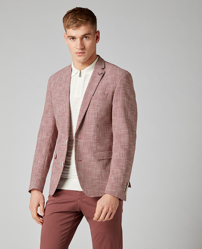Slim Fit Cotton-Rich Jacket
