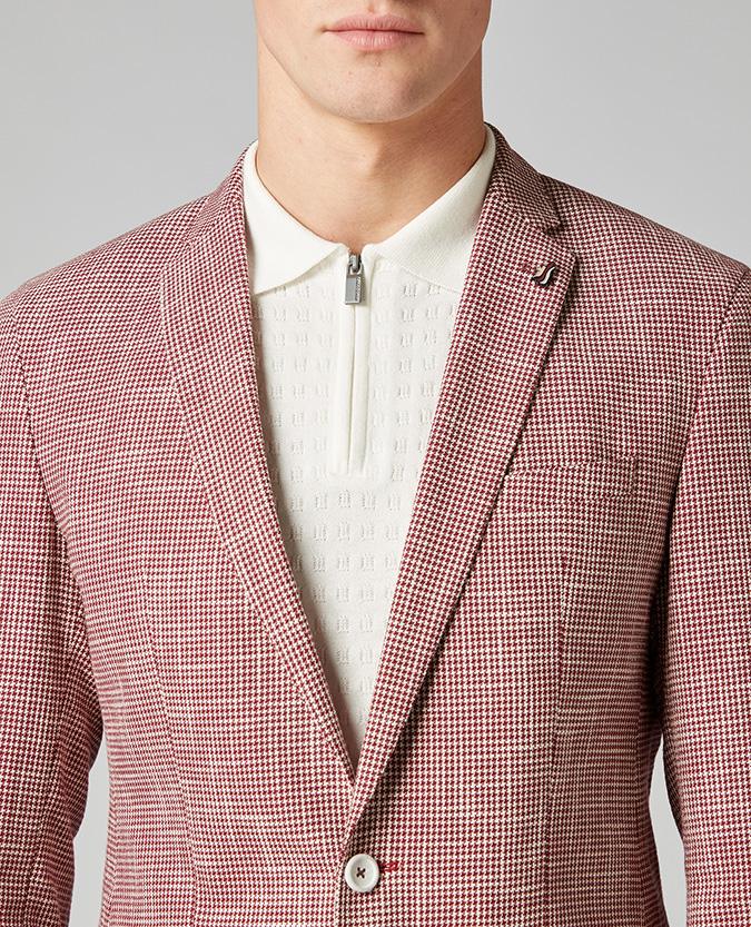 Slim Fit Cotton-Rich Jacket