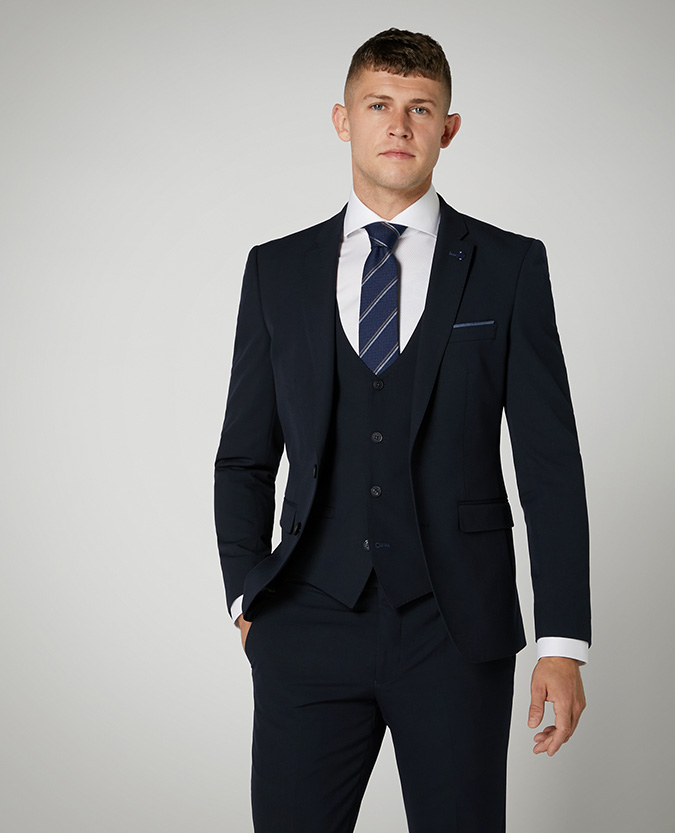 X-Slim Fit Stretch Mix and Match Suit Jacket