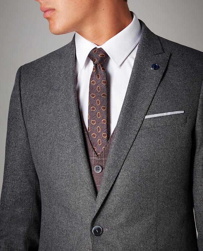 Slim Fit 2 Piece Suit