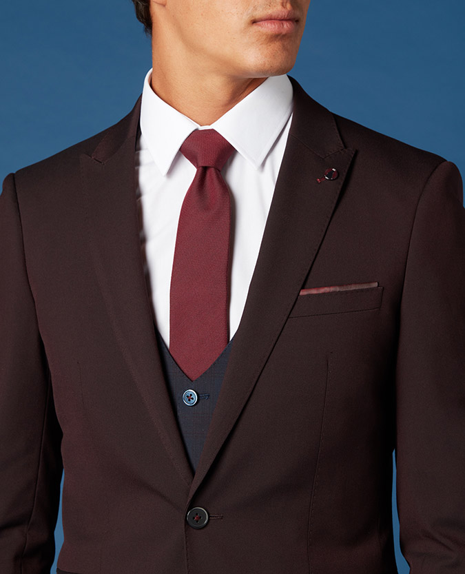 X-Slim Fit 2 Piece Suit