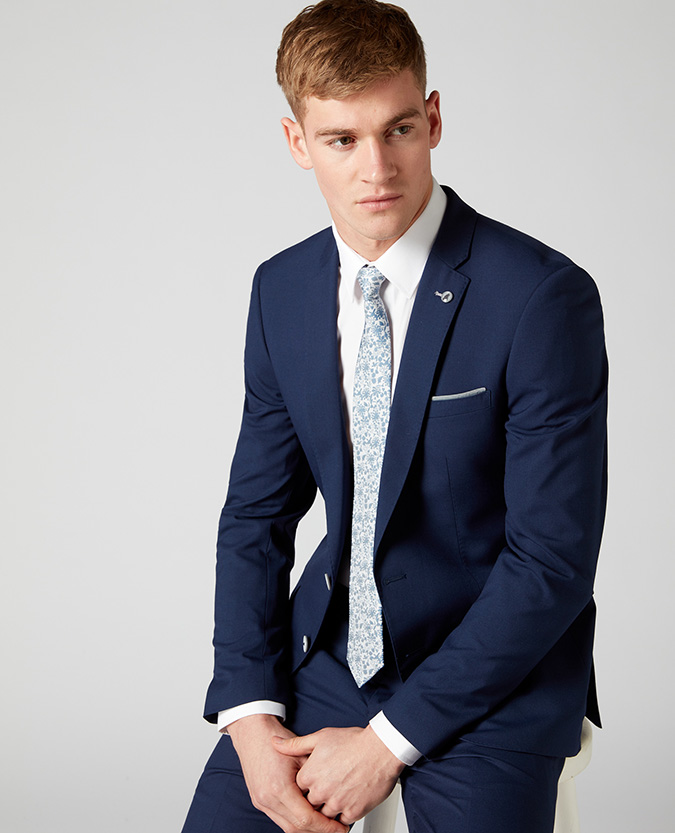 X-Slim Fit 2 Piece Suit