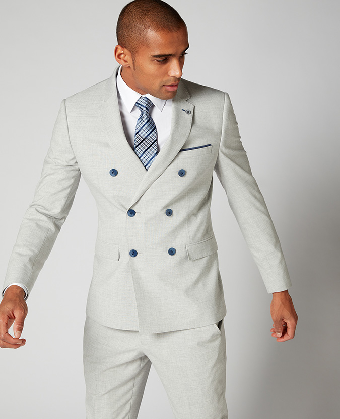 Slim Fit 2 Piece Suit