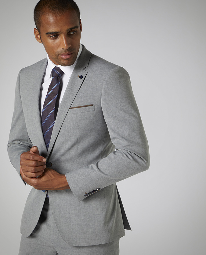 X-Slim Fit Stretch 2 Piece Suit