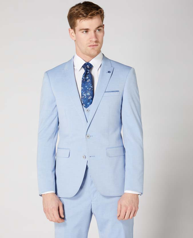 X-Slim Fit 2 Piece Stretch Suit