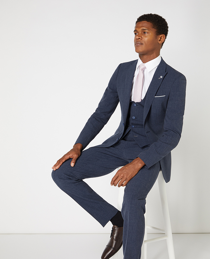 X-Slim Fit 3 Piece Suit
