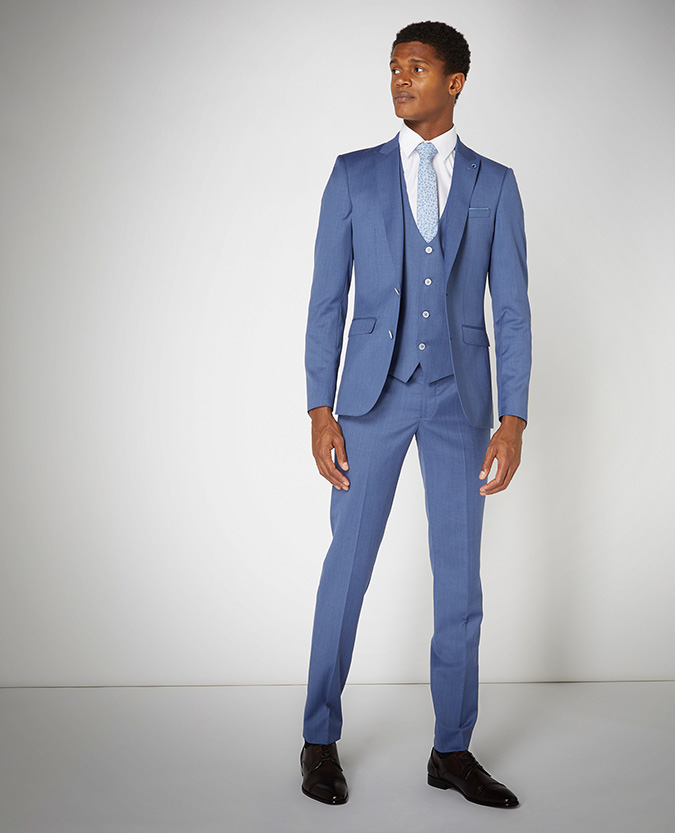 X-Slim Fit Wool-Rich Mix and Match Suit