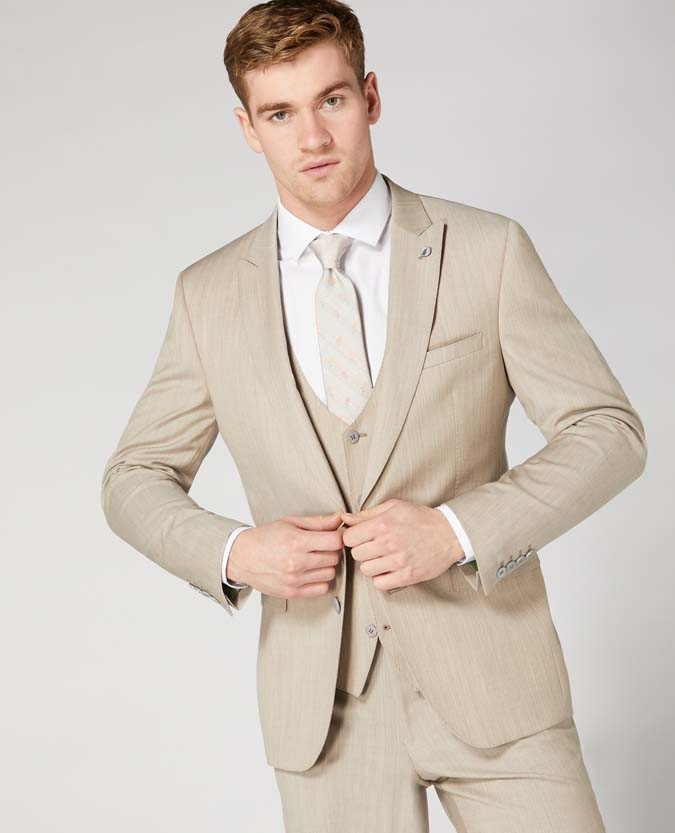 Slim Fit Wool Rich Mix and Match Suit