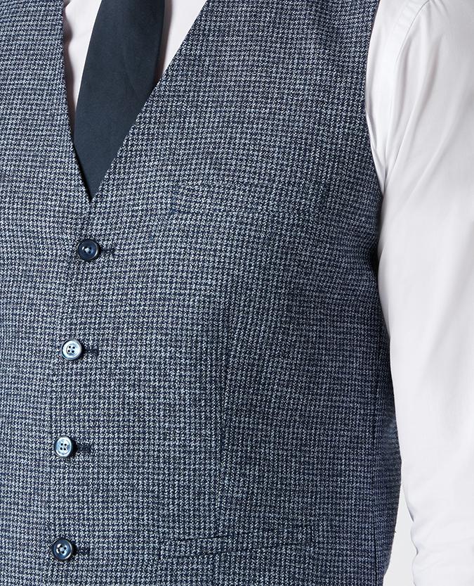 Slim Fit Cotton-Blend Waistcoat