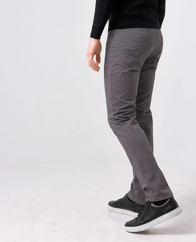 Slim Leg Cotton-Stretch Chino