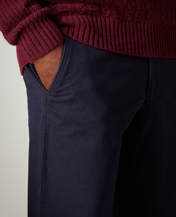 Slim Leg Cotton Stretch Chino