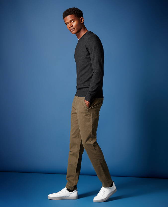 Slim Leg Cotton Stretch Chino
