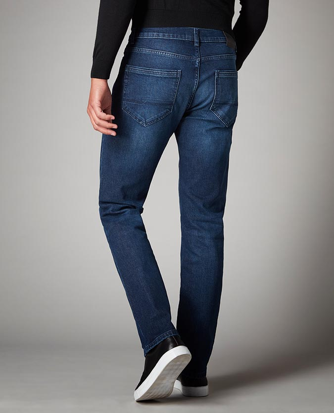Straight Leg Cotton Stretch Jean