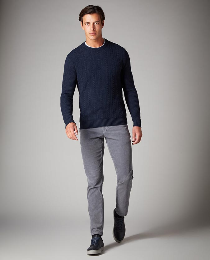 Slim Leg Cotton Stretch Cords