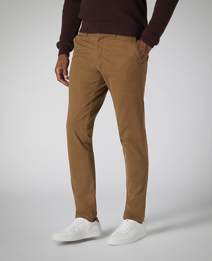 X-Slim Fit Cotton-Stretch Chino