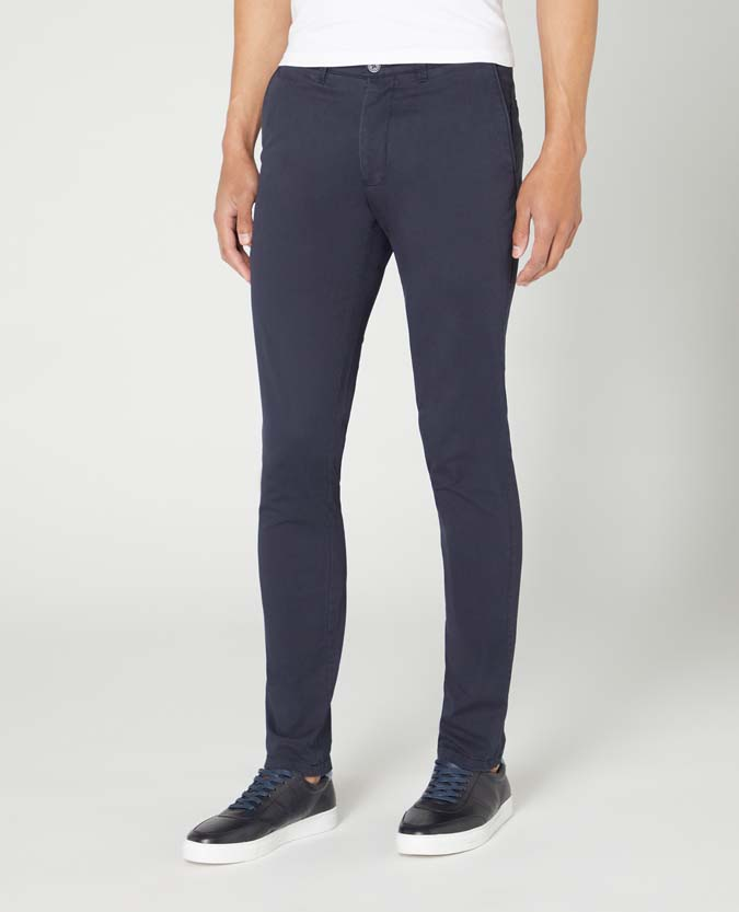 X-Slim Leg Cotton Stretch Chino