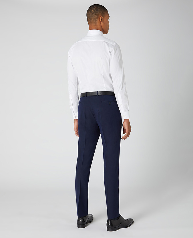 Slim Leg Formal Trousers