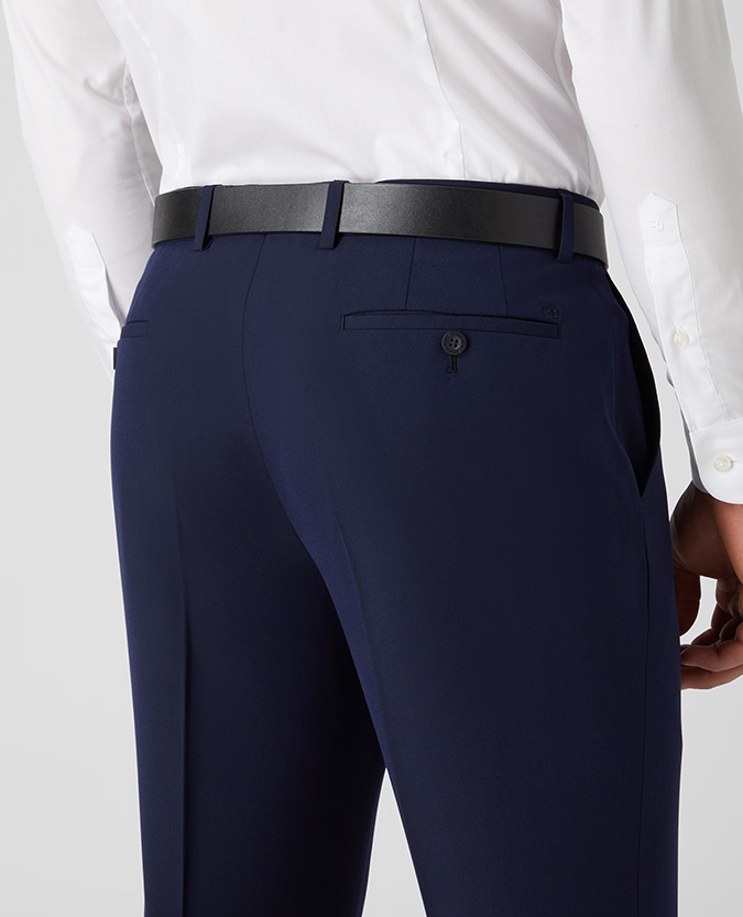 Tapered Fit Formal Trousers