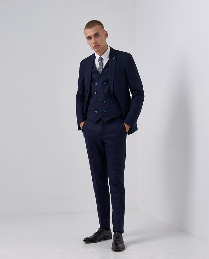 X-Slim Fit Wool-Rich Casual Suit Trouser