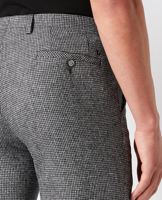Slim Leg Cotton-Blend Trouser