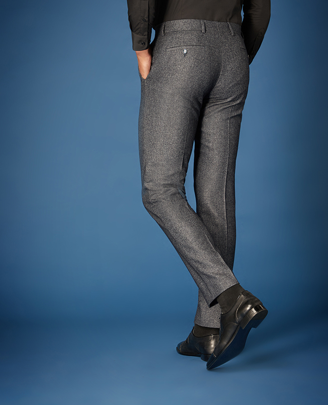 X-Slim Fit Wool-Rich Casual Suit Trousers