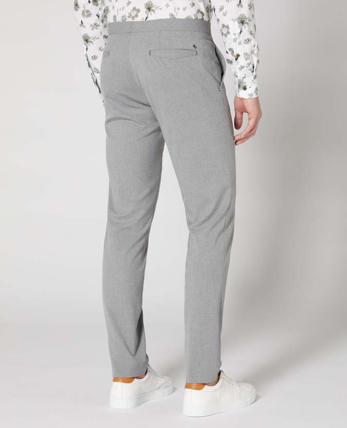 X-Slim Leg Stretch Formal Trousers