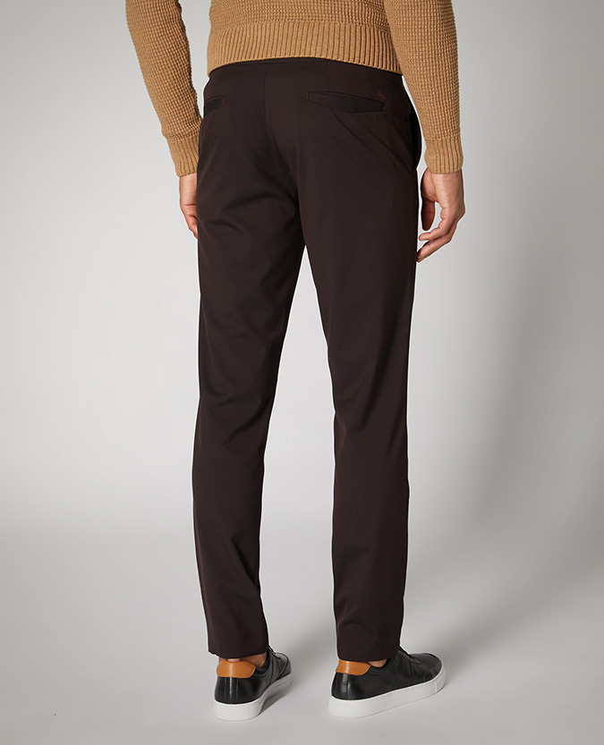 X-Slim Fit Stretch Formal Trousers