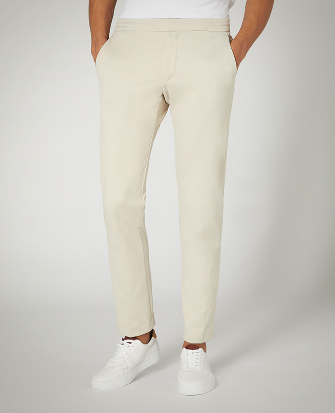X-Slim Leg Stretch Jersey Trouser