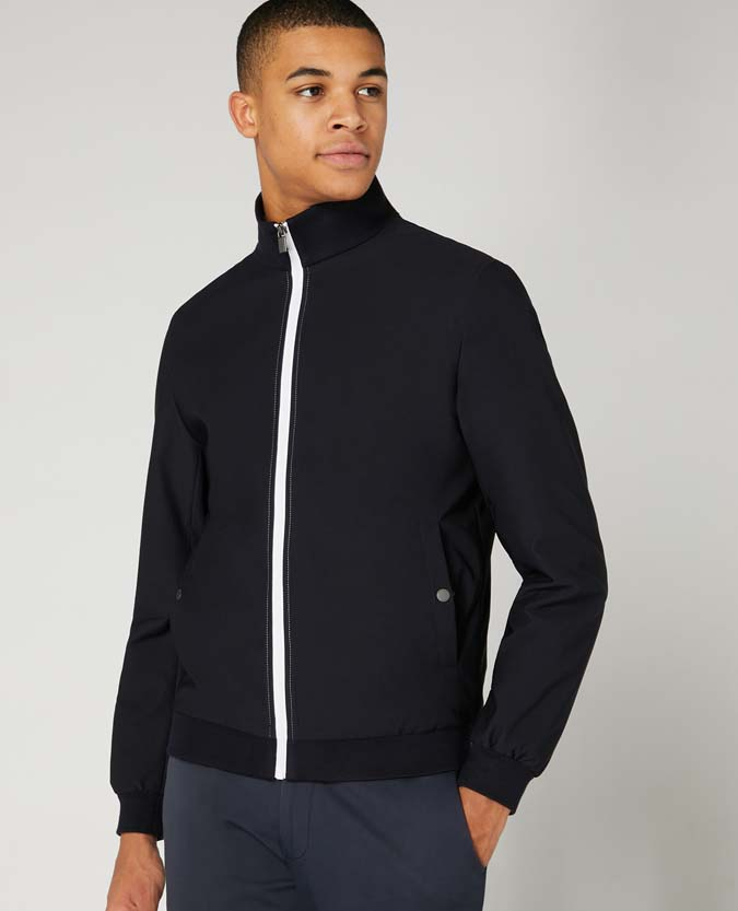Slim Fit Track Jacket