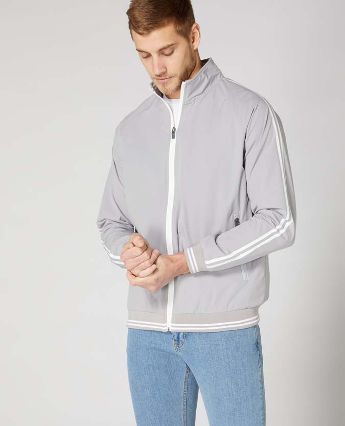 Tapered Fit Track Jacket