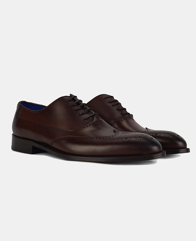 Leather Oxford Shoe