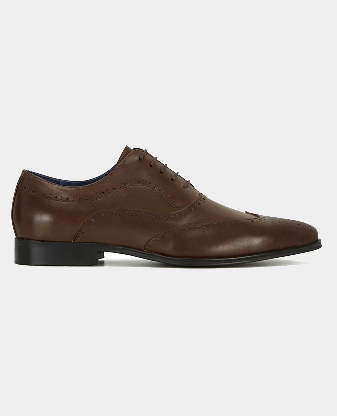 Leather Wingtip Brogue