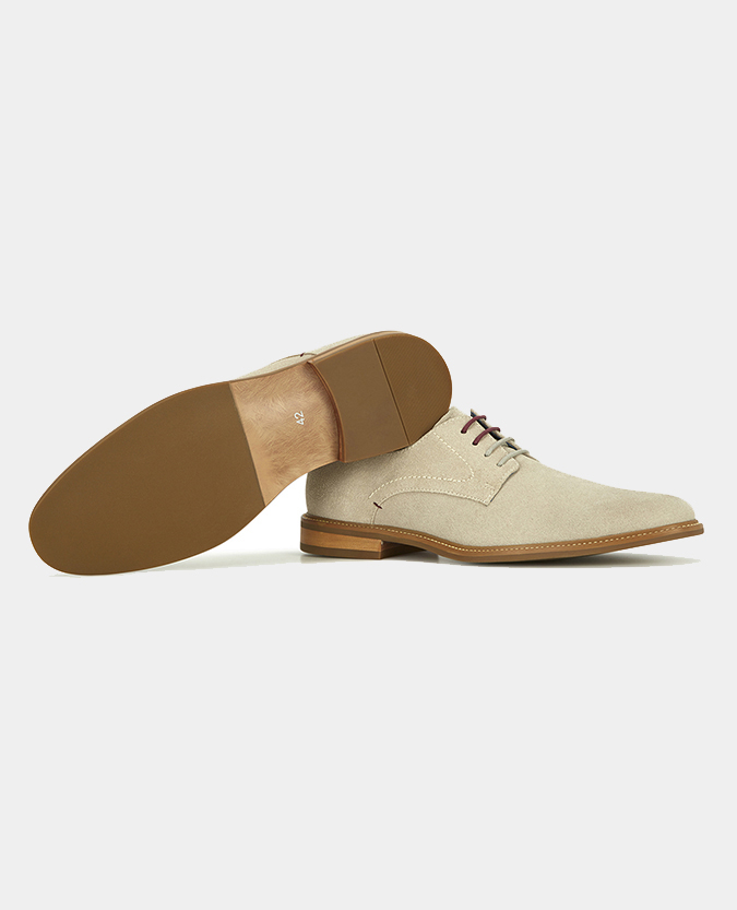 Suede Derby Shoe